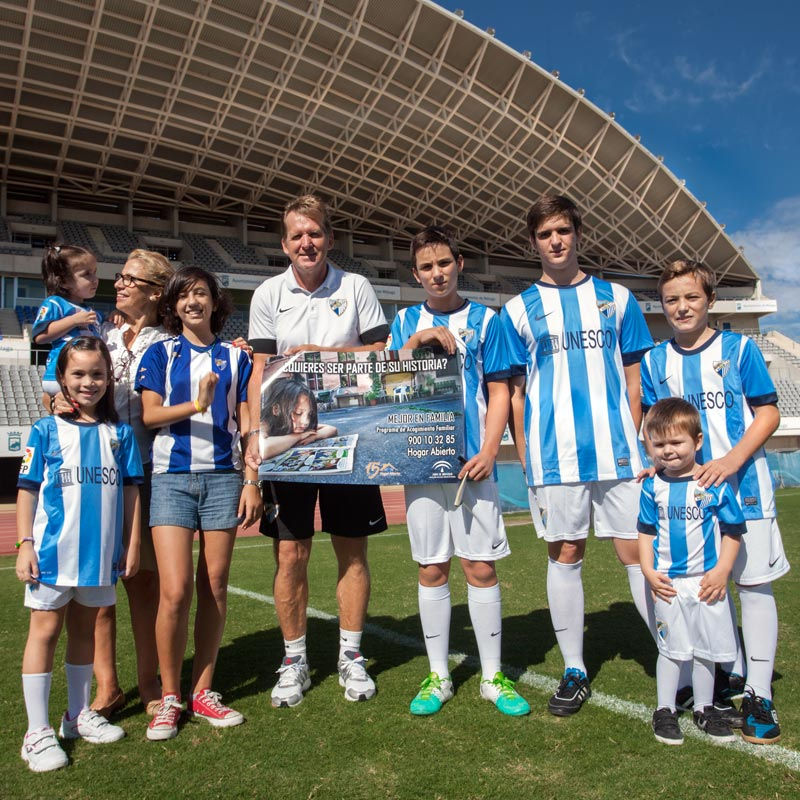 Bernd Schuster apoya a Hogar Abierto