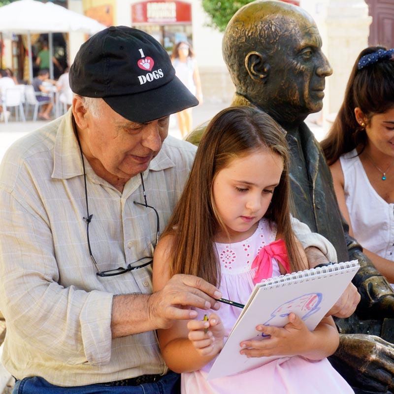 Eduardo Toral apoya a Hogar Abierto
