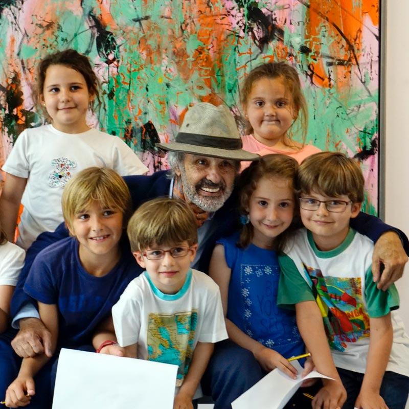 Jorge Rando apoya a Hogar Abierto