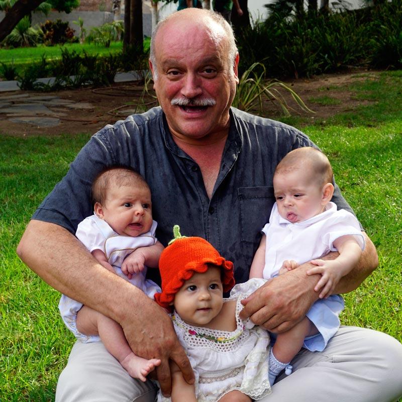 Juanma Lara apoya a Hogar Abierto