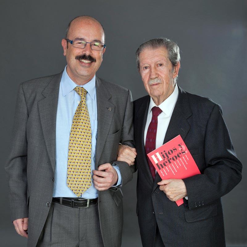 Manuel Alcántara apoya a Hogar Abierto