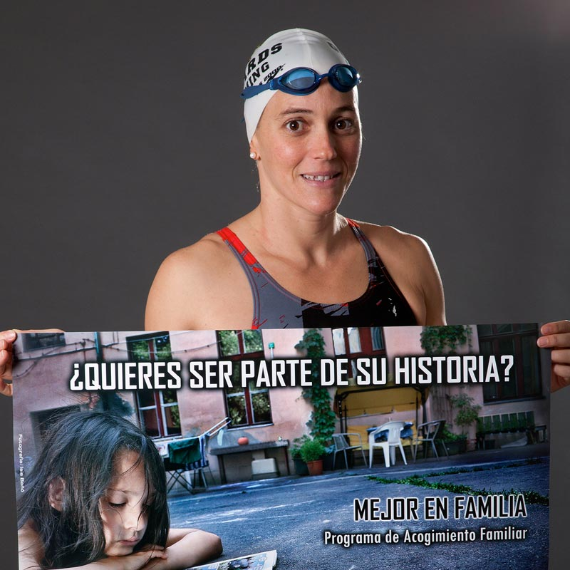 María Peláez apoya a Hogar Abierto