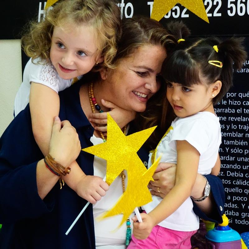Sandra García apoya a Hogar Abierto