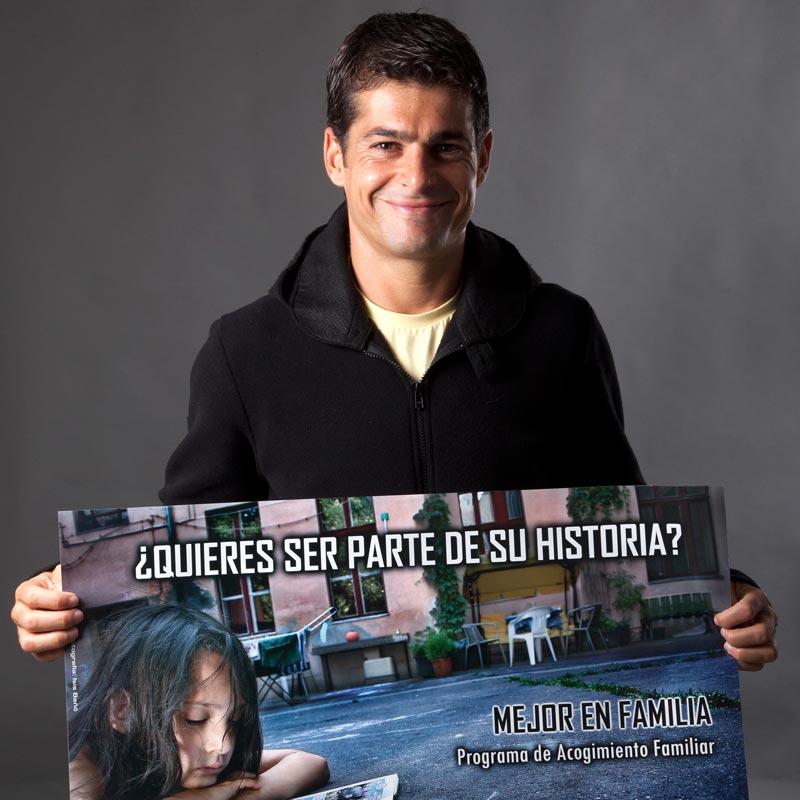 Vicente Valcarce apoya a Hogar Abierto