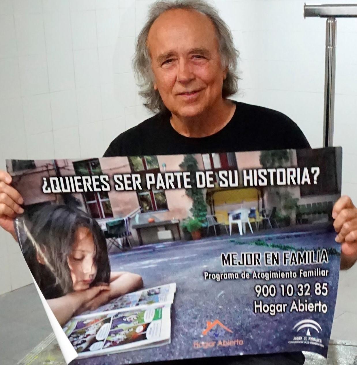 Joan Manuel Serrat apoya a Hogar Abierto